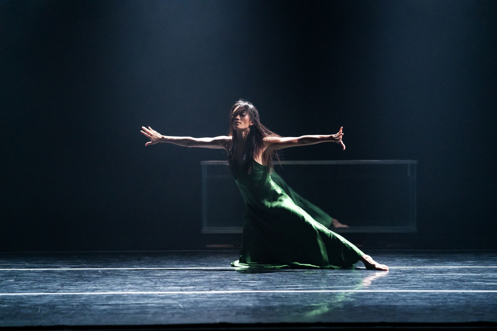 Photo of a dancer of SIREN performance