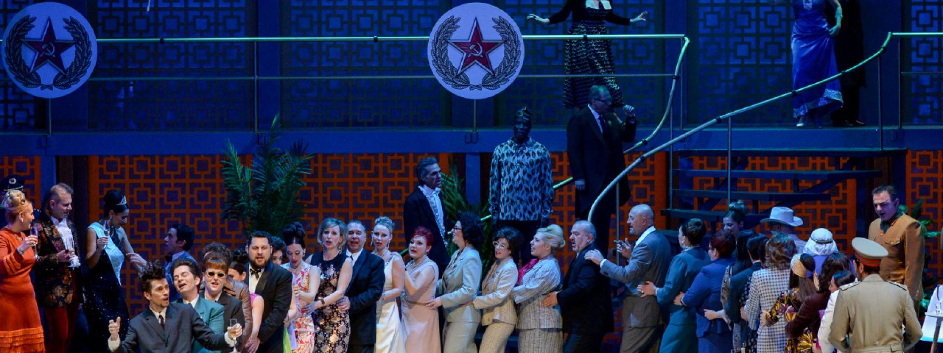 Φωτογραφία από την όπερα Νυχτερίδα