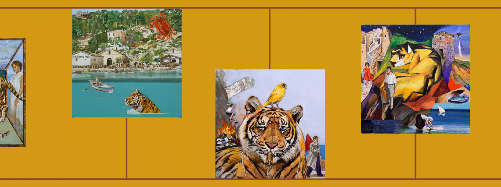 #snfccAtHome Readings: Alki Zei - Wildcat Under Glass - Εικόνα