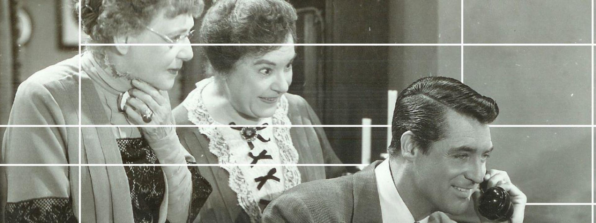 """Φωτογραφία από την ταινία """"Αρσενικό και Παλιά Δαντέλα (1944)"""""""