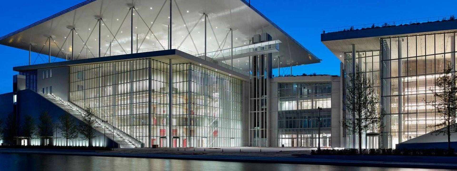 Φωτογραφία από το κτίριο του Κέντρου Πολιτισμού Ίδρυμα Σταύρος Νιάρχος