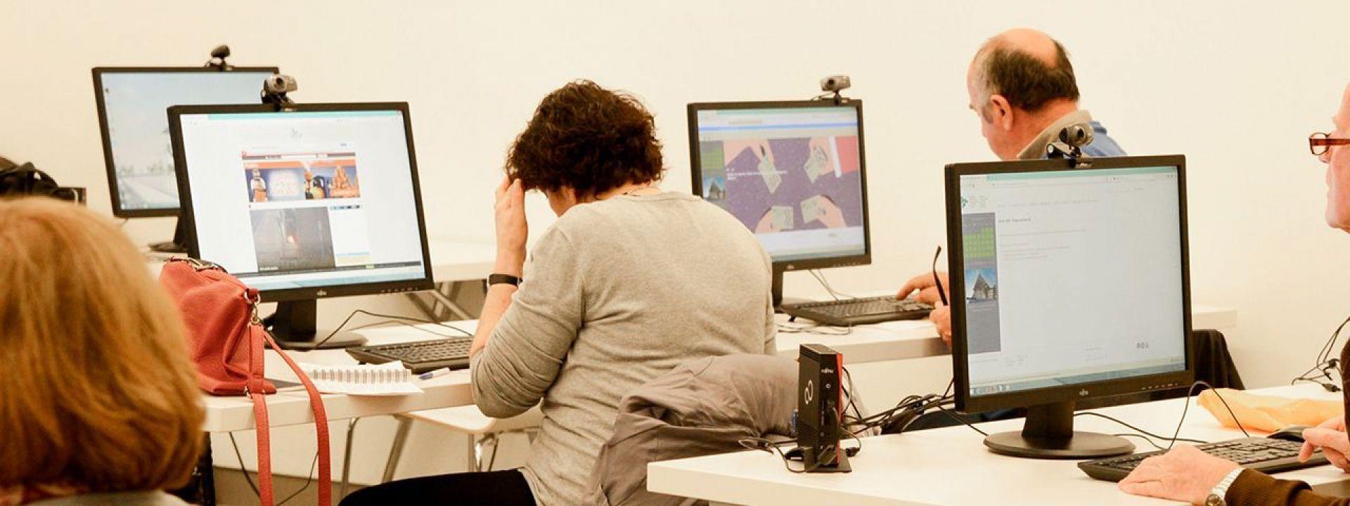 Φωτογραφία από τα Μαθήματα Υπολογιστών του ΚΠΙΣΝ
