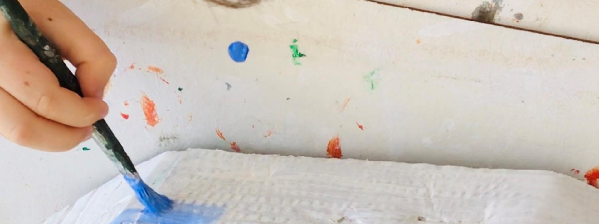 Φωτογραφία από μαθήματα ζωγραφικής