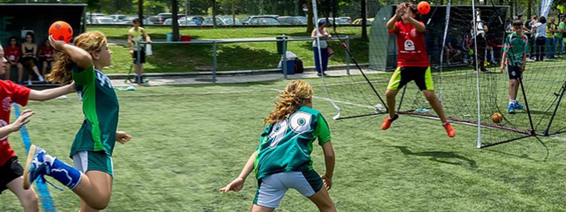 Γνωριμία με το Άθλημα της Χειροσφαίρισης - Εικόνα