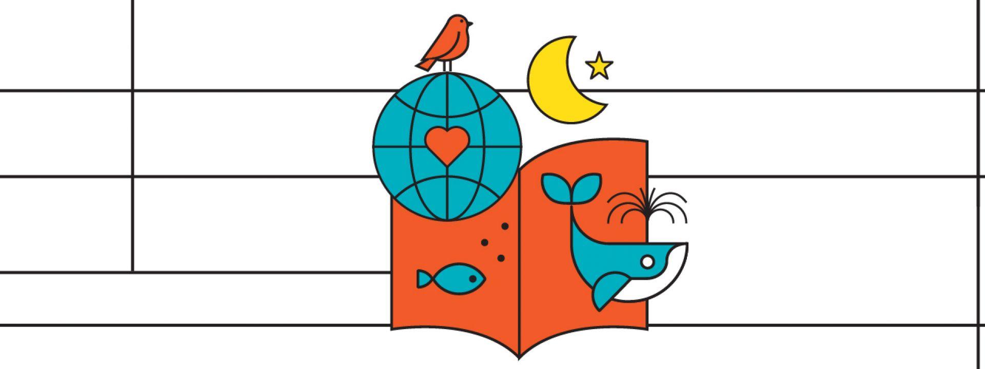 Εικαστικό για το Πρόγραμμα δια βίου μάθησης Αεί Διδασκόμενοι