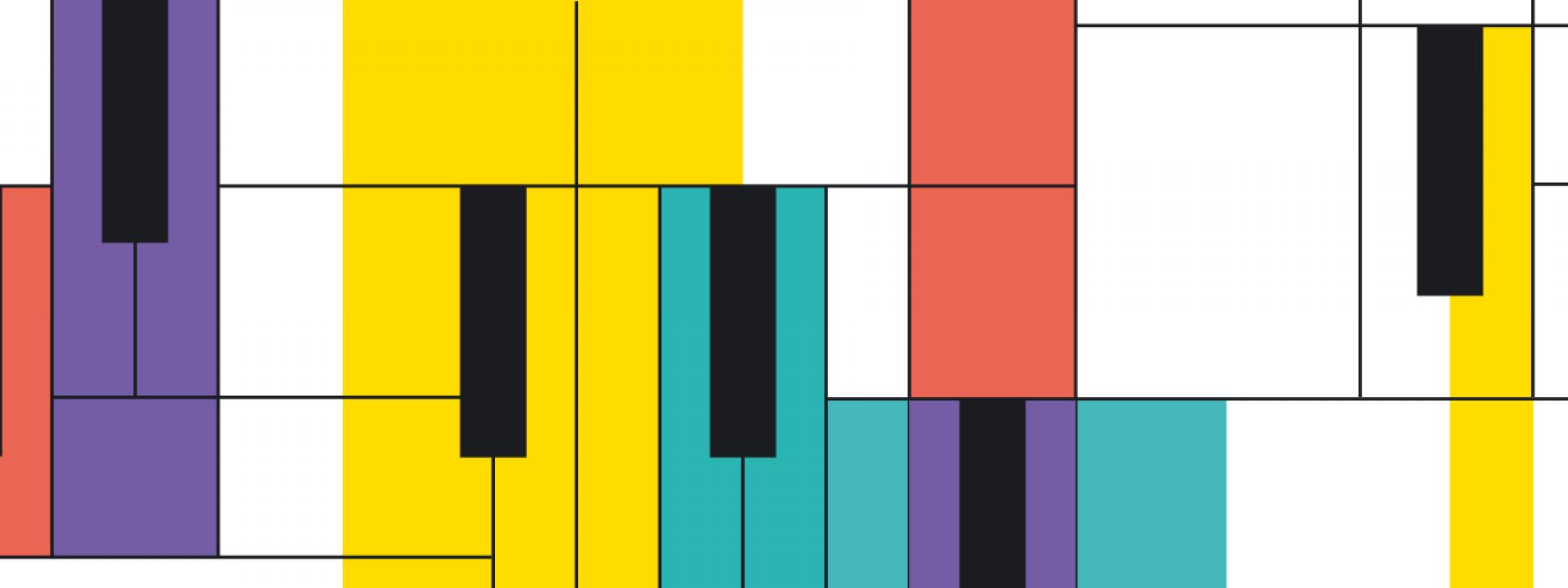 Εικαστικό για τη συναυλία του Στέφανου Ανδρεάδη και του Flying Jazz Quartet στο ΚΠΙΣΝ