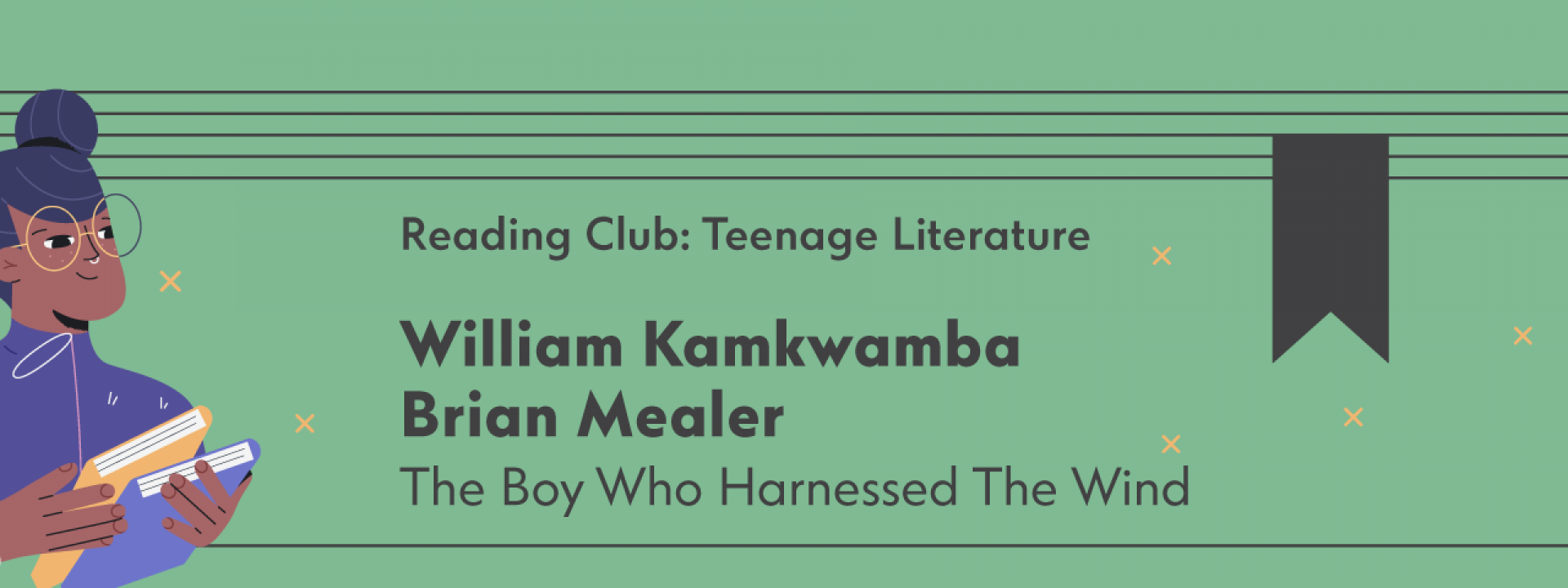 Reading Club: Teenage Literature | The Boy Who Harnessed The Wind - Εικόνα