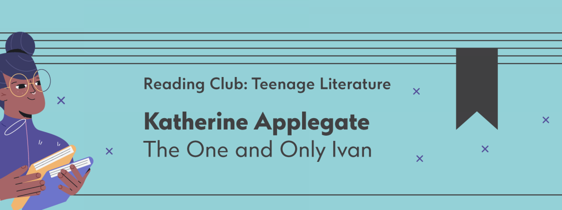 Reading Club: Teenage Literature | The One and Only Ivan - Εικόνα