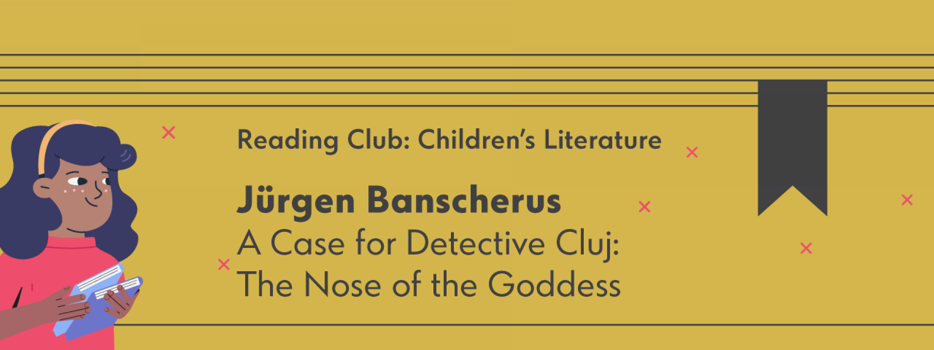 Reading Club: Children's Literature | A Case for Detective Cluj: The Nose of the Goddess - Εικόνα