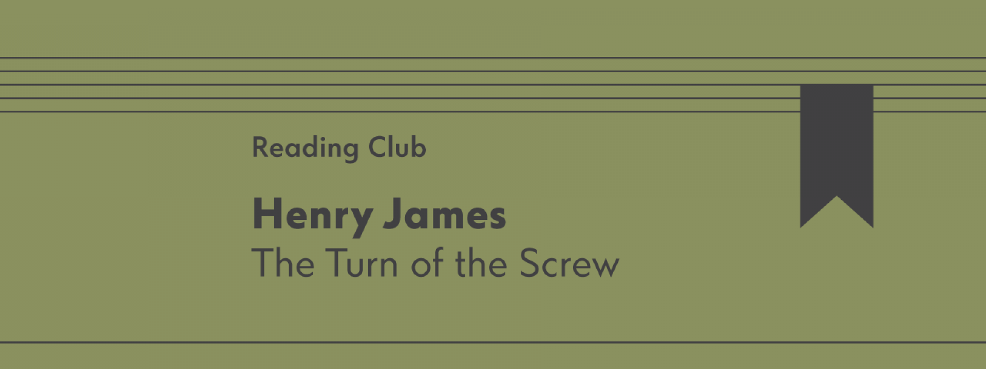 Reading Club: The Turn of the Screw - Εικόνα