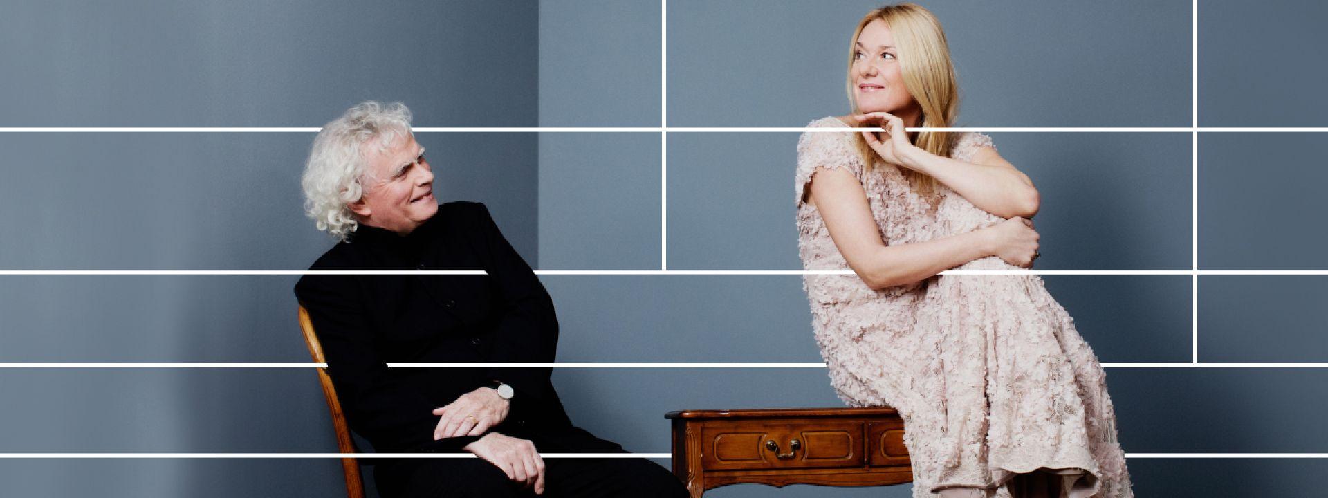 Εικαστικό για τη συναυλία των Magdalena Kožena και Sir Simon Rattle