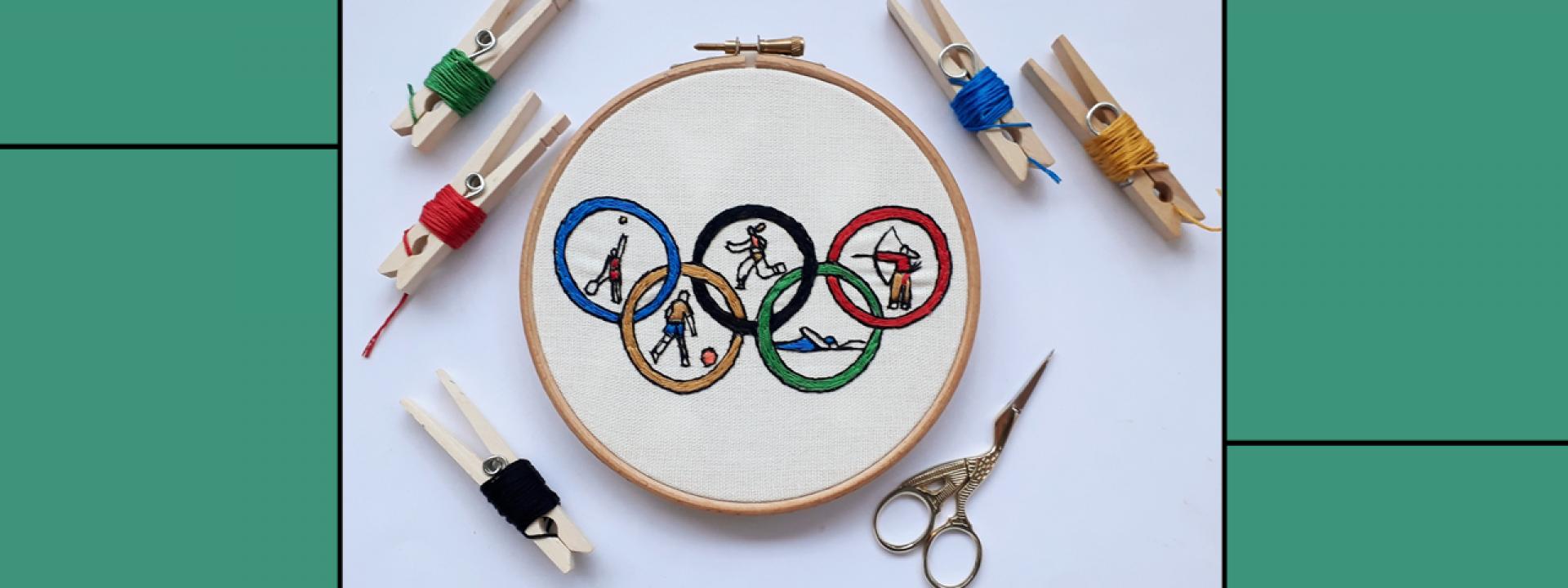 Creative Embroidery: Eminent personalities - June - Εικόνα