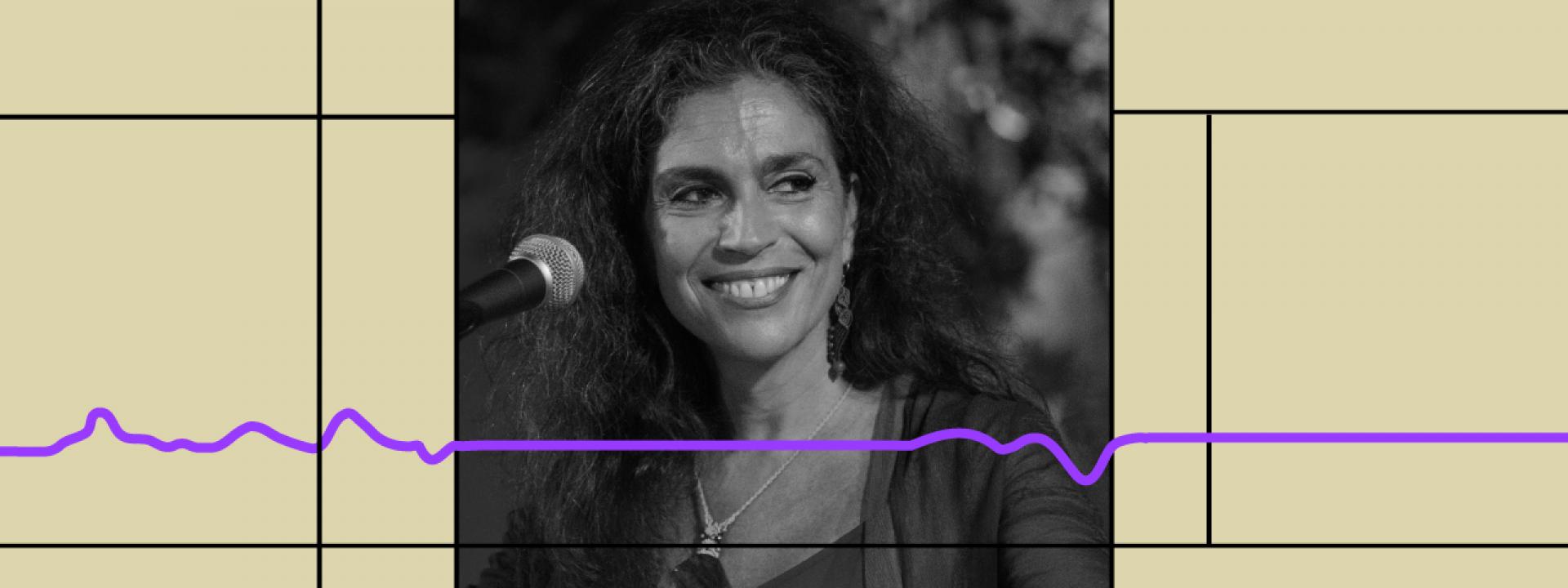 Εικαστικό για τη διαδικτυακή συναυλία της Σαβίνας Γιαννάτου