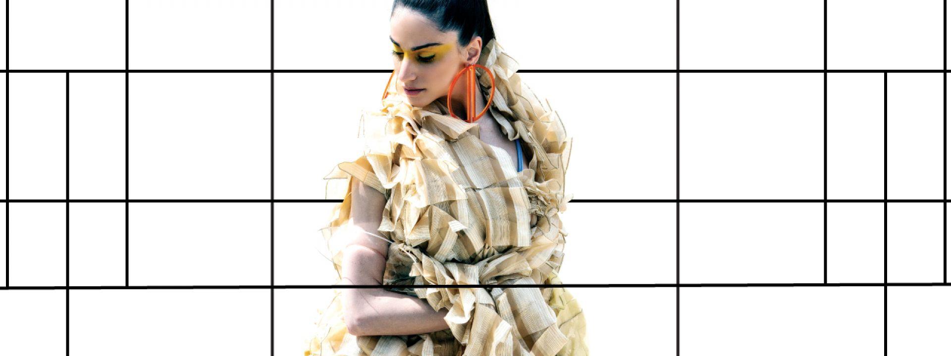 Φωτογραφία από ένδυμα - δείγμα Υψηλής Ραπτικής, στο πλαίσιο του project Όπερα και Μόδα