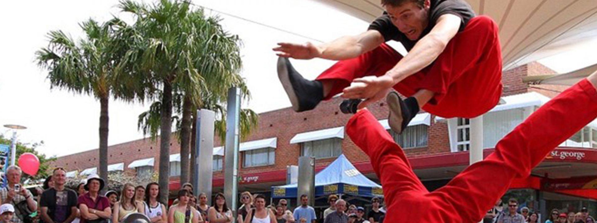 Φωτογραφία απο την εκδήλωση Circus Outdoors