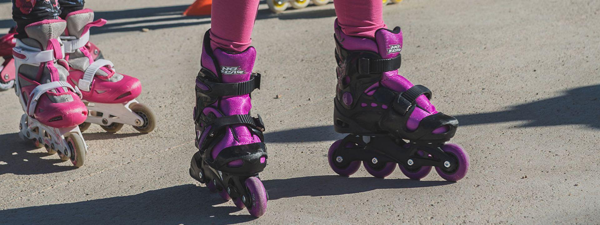 Φωτογραφία από το μάθημα roller skates