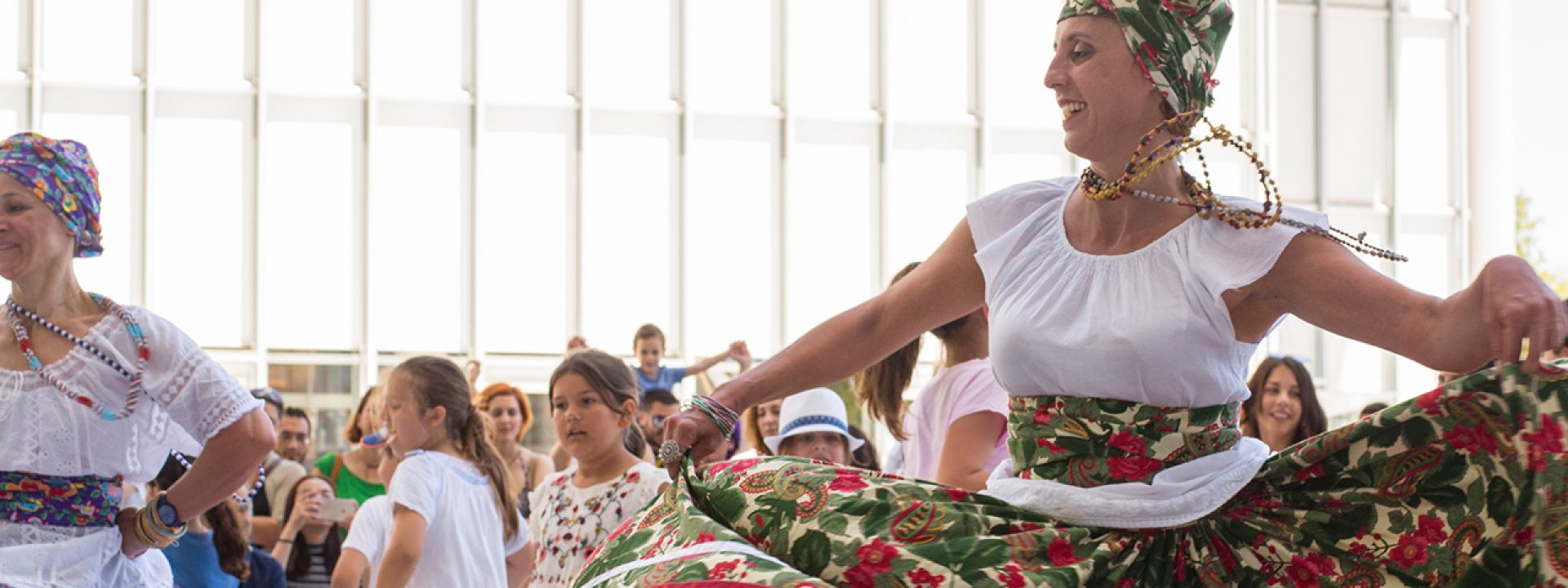 Φωτογραφία από την εκδήλωση Samba στο ΚΠΙΣΝ