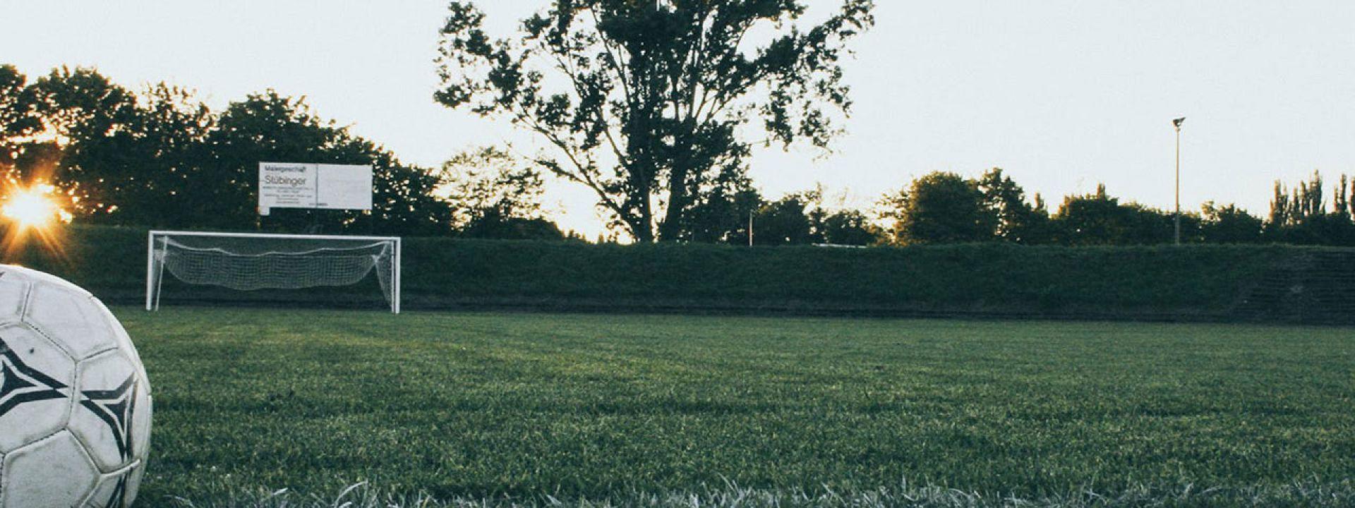 Φωτογραφία από το ποδοσφαιρικό γρασίδι