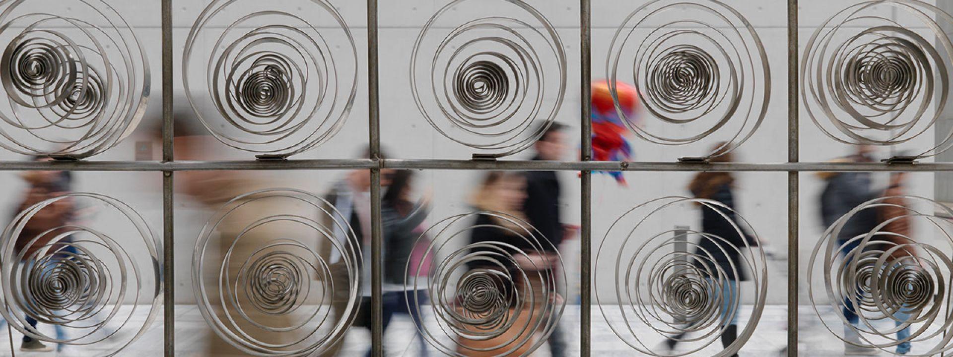 Φωτογραφία από γλυπτό του Ζογγολόπουλου στο Κέντρο Πολιτισμού Ίδρυμα Σταύρος Νιάρχος
