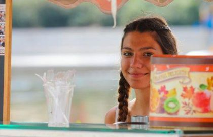Φωτογραφία από το σημείο εστίασης - καφέ Vans on Tour στο ΚΠΙΣΝ