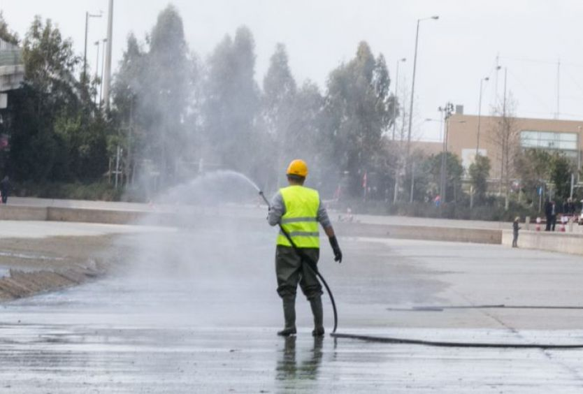 The annual SNFCC Canal cleaning - Εικόνα