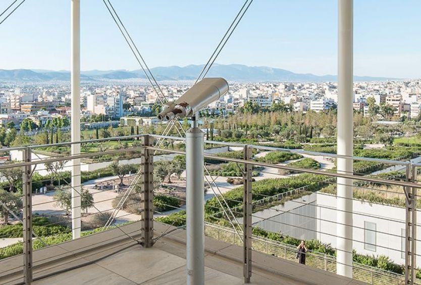 Φωτογραφία που απεικονίζει τη θέα από τον Φάρο του ΚΠΙΣΝ