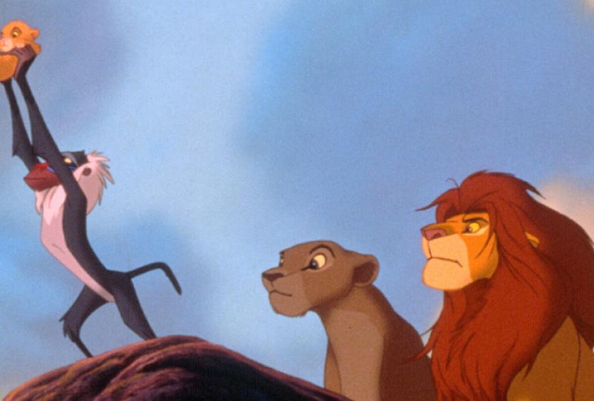 Φωτογραφία από την ταινία κινουμένων σχεδίων Ο Βασιλιάς των Λιονταριών