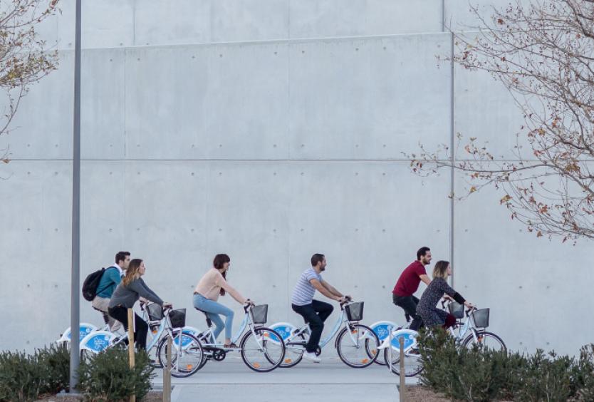 Φωτογραφία από τα ποδήλατα του ΚΠΙΣΝ