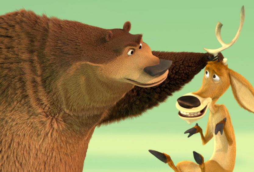 """Φωτογραφία από σκηνή της ταινίας """"Οι ήρωες του δάσους"""""""