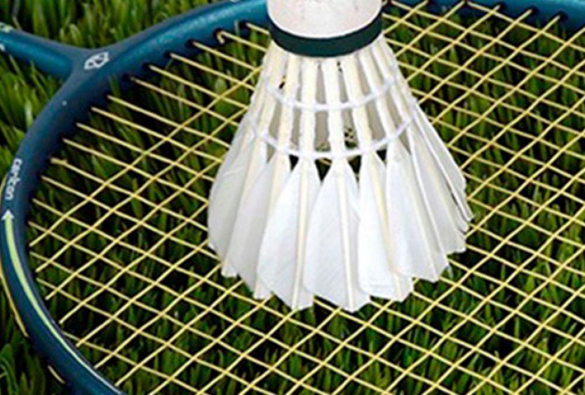 Φωτογραφία απο εξοπλισμό Badminton