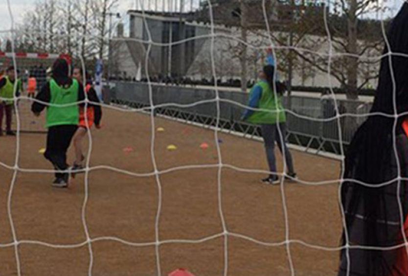 Φωτογραφία απο παιχνίδι Handball