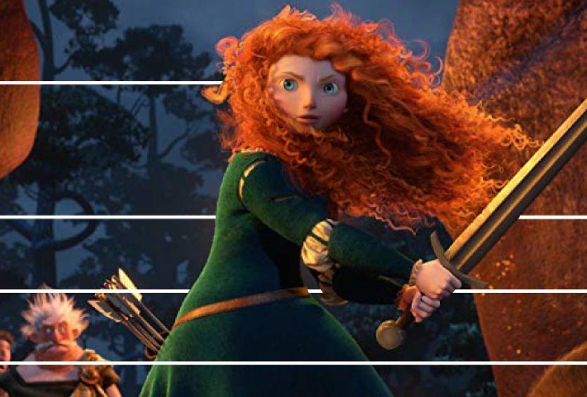 Φωτογραφία από την ταινία Brave, του 2012