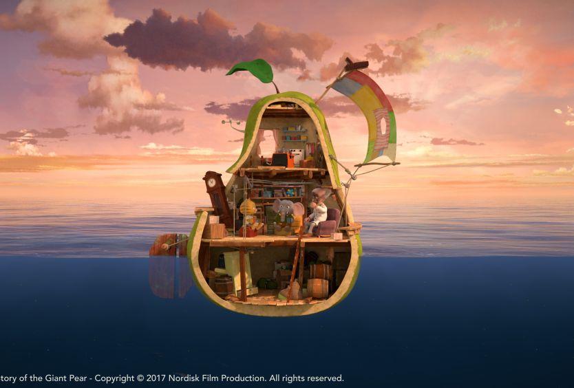 Park Your Cinema Kids: Η Απίστευτη Ιστορία του Γιγάντιου Αχλαδιού (2017) - Εικόνα