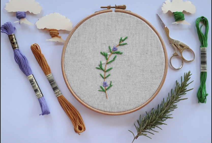 Creative Embroidery: Insects of the Park - Εικόνα