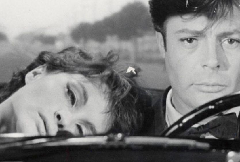 """Φωτογραφία από σκηνή της ταινίας """"La Dolce Vita"""""""