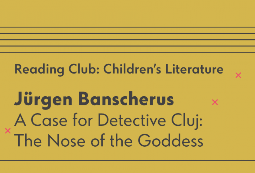 Reading Club: Children's Literature   A Case for Detective Cluj: The Nose of the Goddess - Εικόνα