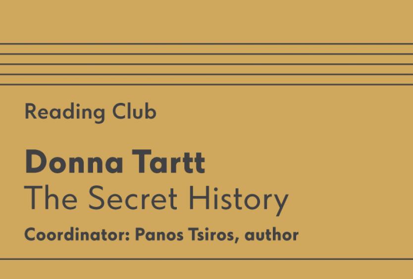 Reading Club: The Secret History, by Donna Tartt - Εικόνα