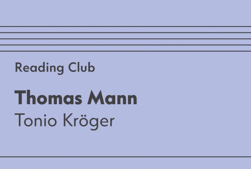 April Reading Club: Tonio Kröger - Εικόνα