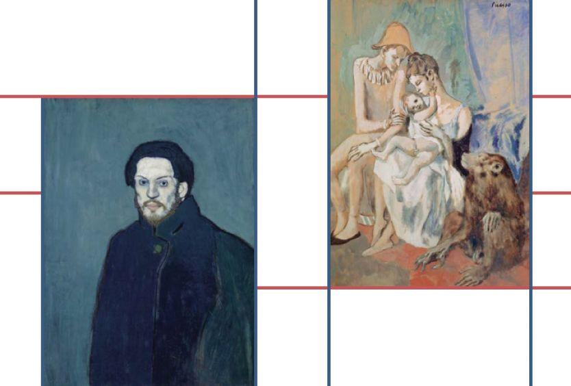 Εικαστικό για την οπτικοακουστική εγκατάσταση Picasso