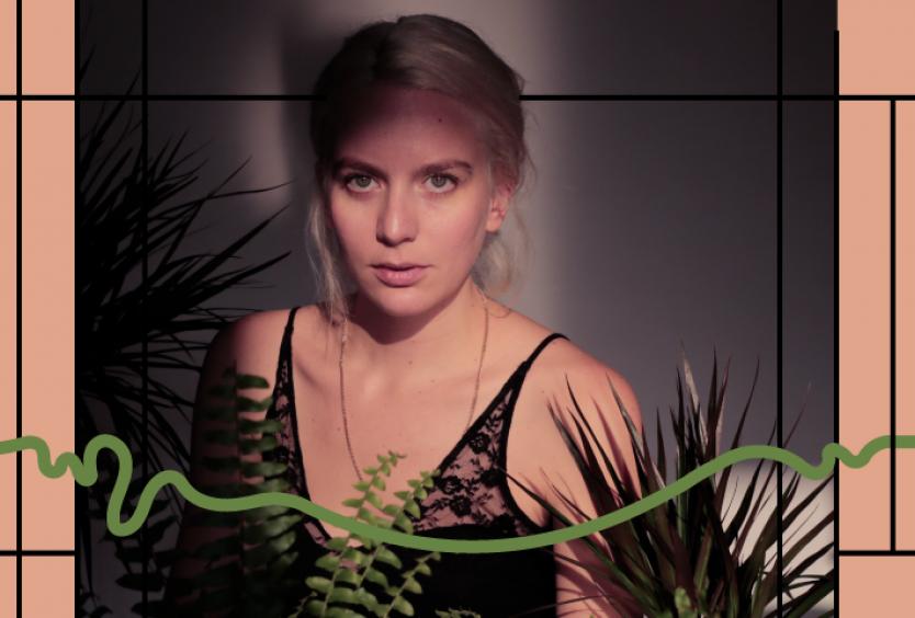 Εικαστικό για τη διαδικτυακή συναυλία της Nalyssa Green