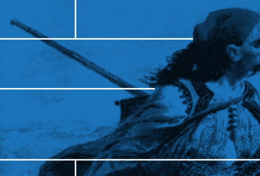 Εικαστικό για το αφηγηματικό ποίημα Λάμπρος του Διονύσιου Σολωμού
