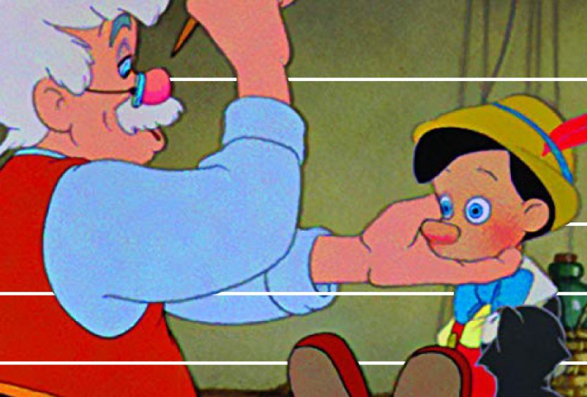 Φωτογραφία από την ταινία κινουμένων σχεδίων Πινόκιο