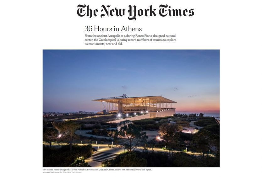 SNFCC at the New York Times - Εικόνα