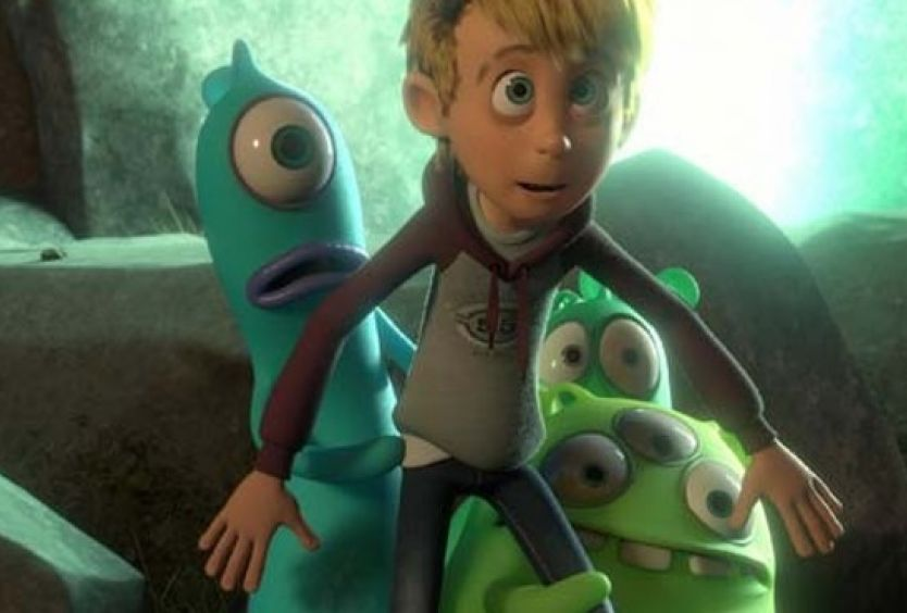 Park Your Cinema Kids: Luis and the Aliens (2018) - Εικόνα