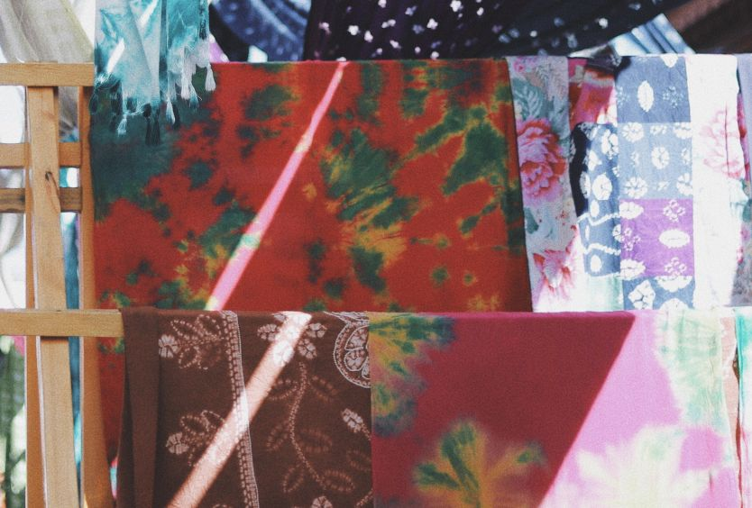 We Create Art All Together: Textile Collages - Εικόνα