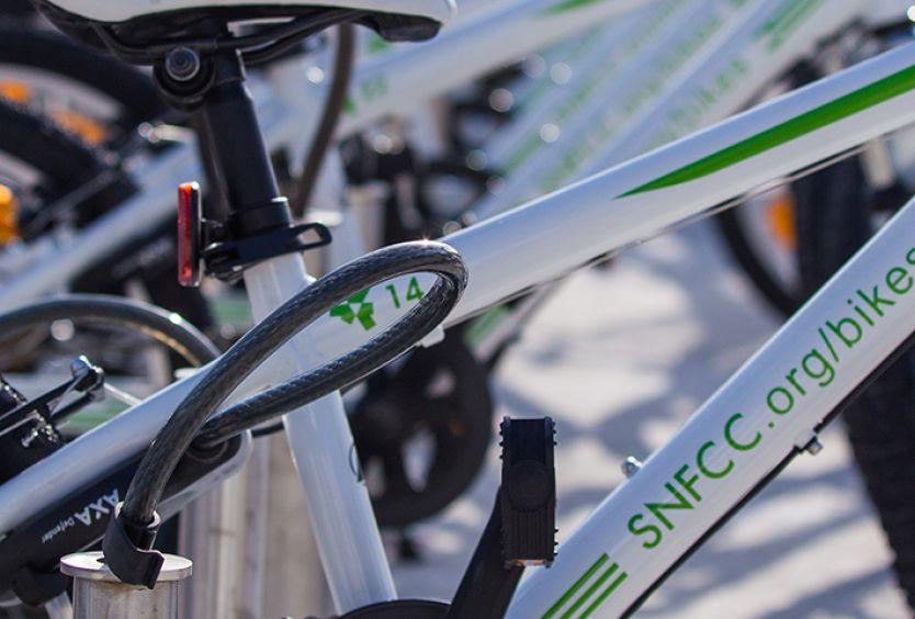 Φωτογραφία με ποδήλατα του ΚΠΙΣΝ