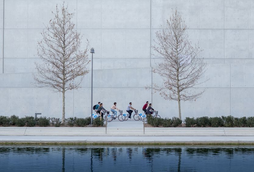 Φωτογραφία με ποδηλάτες στο ΚΠΙΣΝ