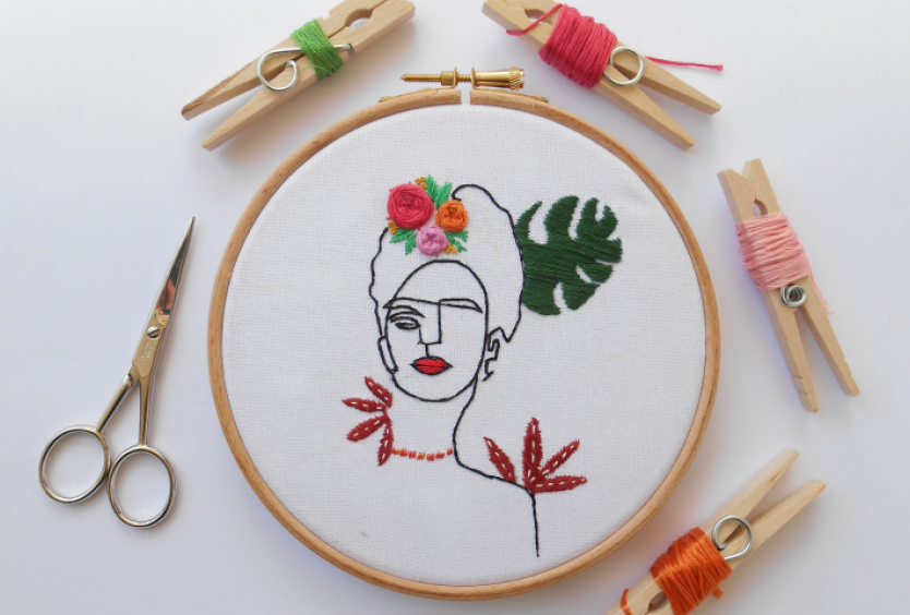 Creative Embroidery: Eminent personalities - May - Εικόνα