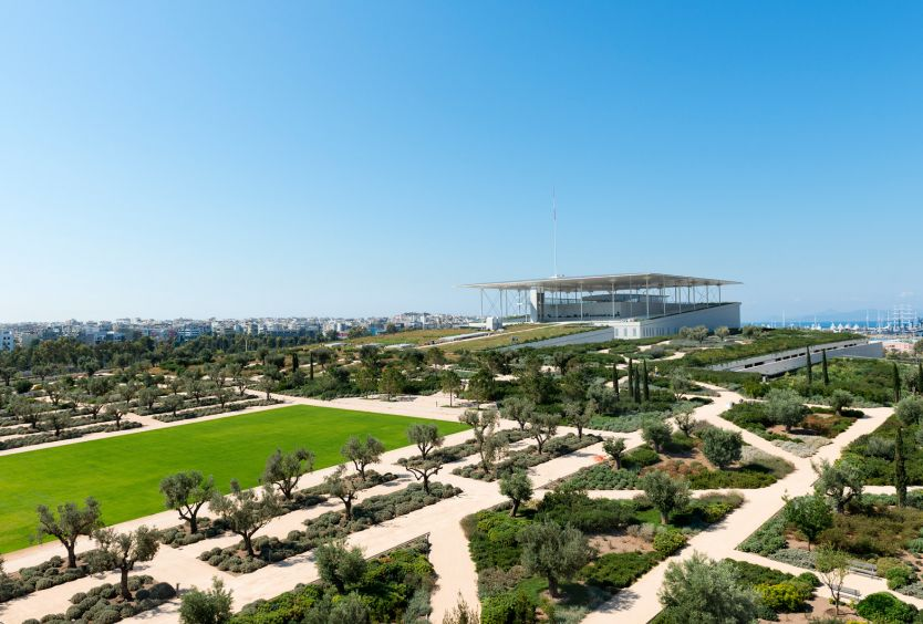 Stavros Niarchos Park, Lighthouse & athletic facilities closed - Εικόνα