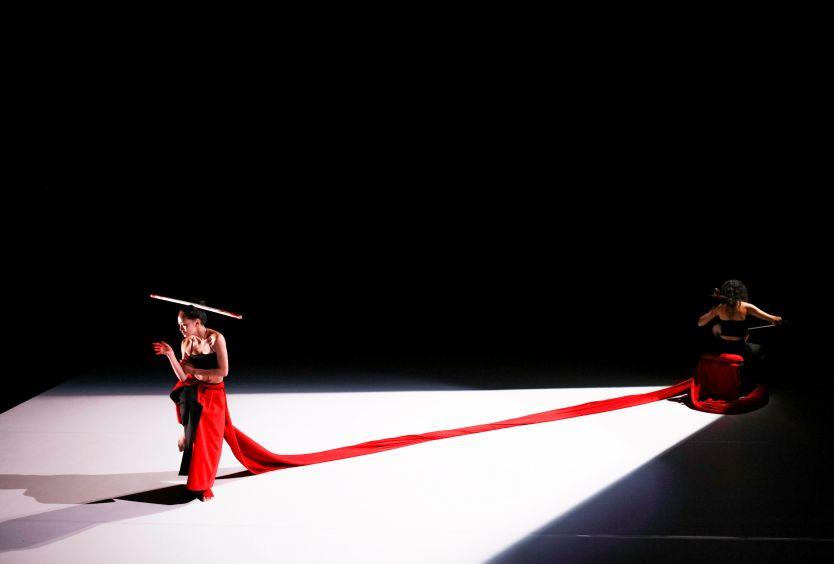 Φωτογραφία απο την παράσταση χορού portraits in otherness